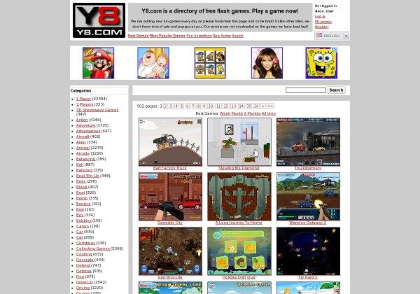 Y8 Juegos De Y8 Web A 2 0