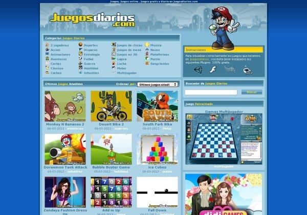 Juegos Diarios Web 2 0