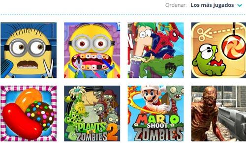juegos gratis sscreenshot