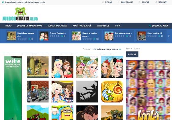 Juegos Gratis Web 2 0