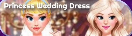 Previo en Frid del juego Princess wedding dress design